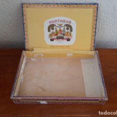 Cajas de Puros: CAJA DE MADERA DE PUROS FLOR DE TABACOS PARTAGAS Y Cª HABANA HECHO EN CUBA. Lote 268929609