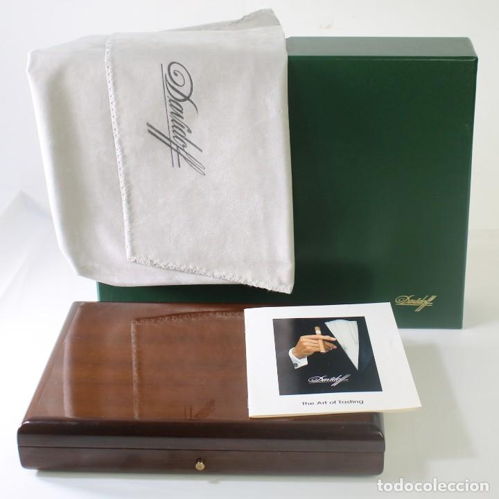 CAJA DE PUROS DAVIDOFF CAOBA (Coleccionismo - Objetos para Fumar - Cajas de Puros)