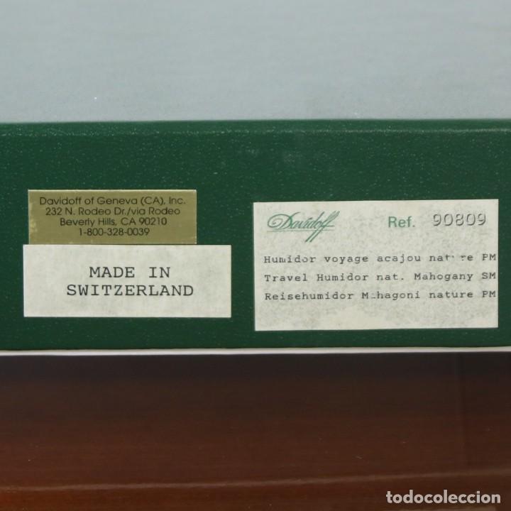 Cajas de Puros: Caja De Puros Davidoff Caoba - Foto 4 - 269073693