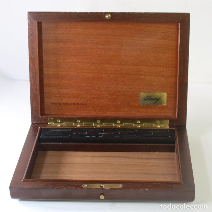 Cajas de Puros: Caja De Puros Davidoff Caoba - Foto 5 - 269073693