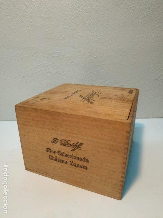 Cajas de Puros: ANTIGUA CAJA DE PUROS VACIA DAVIDOFF CABINET HABANA CUBA - Foto 8 - 269096813