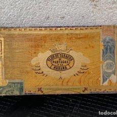 Cajas de Puros: CAJA FLOR TABACOS PARTAGAS Y Cª HABANA CIGARROS PUROS MADE IN HABANA CUBA SERIE L PPIO S XX. Lote 269104153