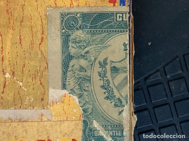 Cajas de Puros: CAJA FLOR TABACOS PARTAGAS Y Cª HABANA CIGARROS PUROS MADE IN HABANA CUBA SERIE L PPIO S XX - Foto 6 - 269104153