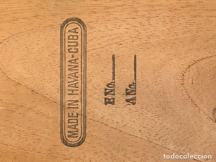 Cajas de Puros: CAJA FLOR TABACOS PARTAGAS Y Cª HABANA CIGARROS PUROS MADE IN HABANA CUBA SERIE L PPIO S XX - Foto 10 - 269104153
