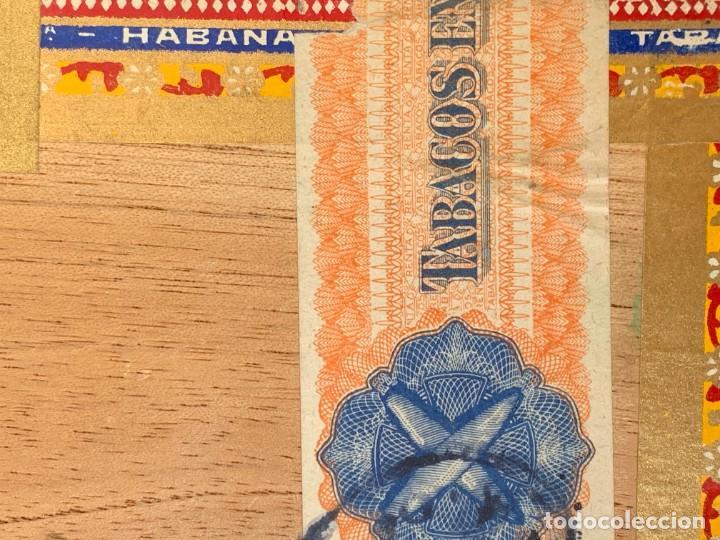 Cajas de Puros: CAJA FLOR TABACOS PARTAGAS Y Cª HABANA CIGARROS PUROS MADE IN HABANA CUBA SERIE L PPIO S XX - Foto 12 - 269104153