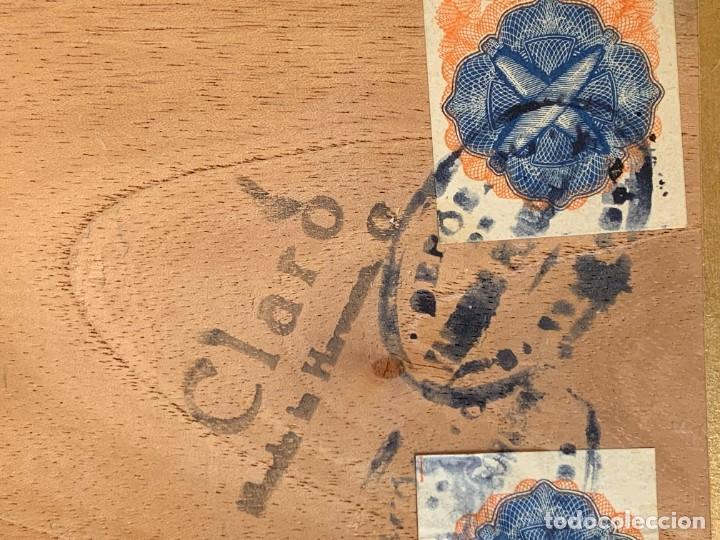 Cajas de Puros: CAJA FLOR TABACOS PARTAGAS Y Cª HABANA CIGARROS PUROS MADE IN HABANA CUBA SERIE L PPIO S XX - Foto 14 - 269104153