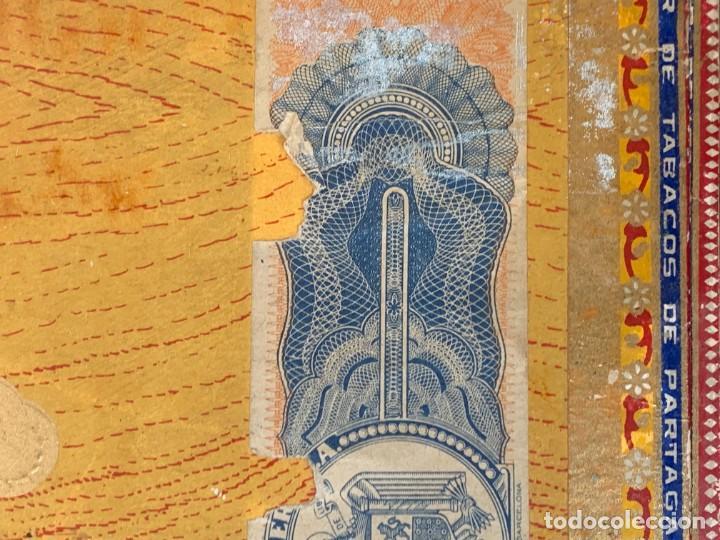 Cajas de Puros: CAJA FLOR TABACOS PARTAGAS Y Cª HABANA CIGARROS PUROS MADE IN HABANA CUBA SERIE L PPIO S XX - Foto 17 - 269104153