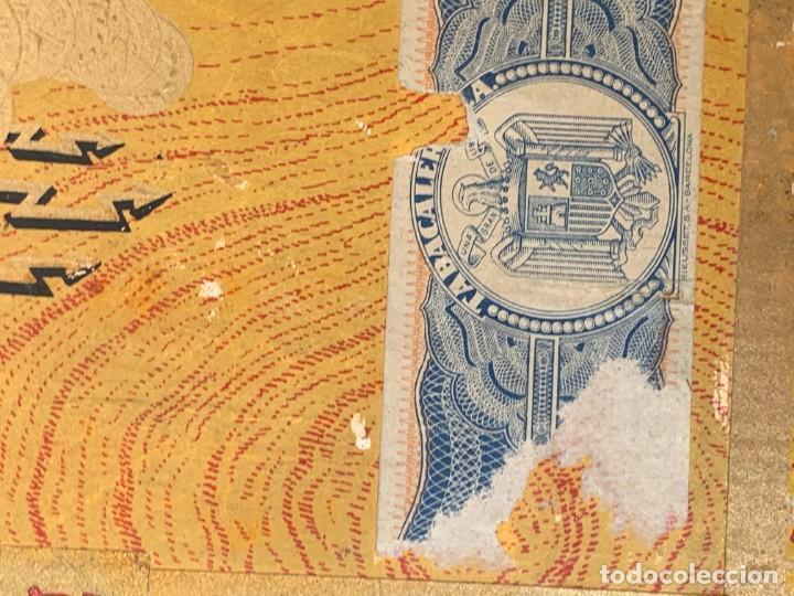 Cajas de Puros: CAJA FLOR TABACOS PARTAGAS Y Cª HABANA CIGARROS PUROS MADE IN HABANA CUBA SERIE L PPIO S XX - Foto 18 - 269104153