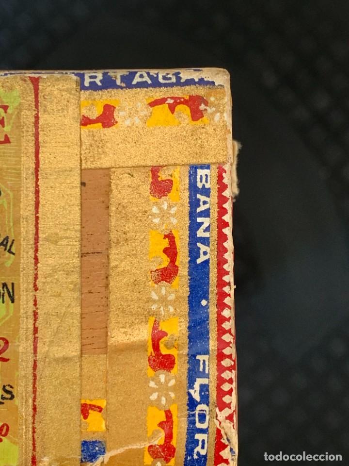 Cajas de Puros: CAJA FLOR TABACOS PARTAGAS Y Cª HABANA CIGARROS PUROS MADE IN HABANA CUBA SERIE L PPIO S XX - Foto 23 - 269104153