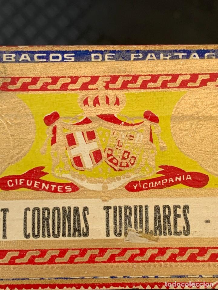 Cajas de Puros: CAJA FLOR TABACOS PARTAGAS Y Cª HABANA CIGARROS PUROS MADE IN HABANA CUBA SERIE L PPIO S XX - Foto 25 - 269104153
