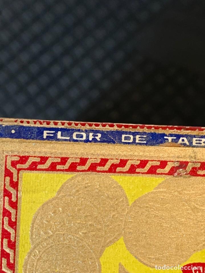 Cajas de Puros: CAJA FLOR TABACOS PARTAGAS Y Cª HABANA CIGARROS PUROS MADE IN HABANA CUBA SERIE L PPIO S XX - Foto 27 - 269104153