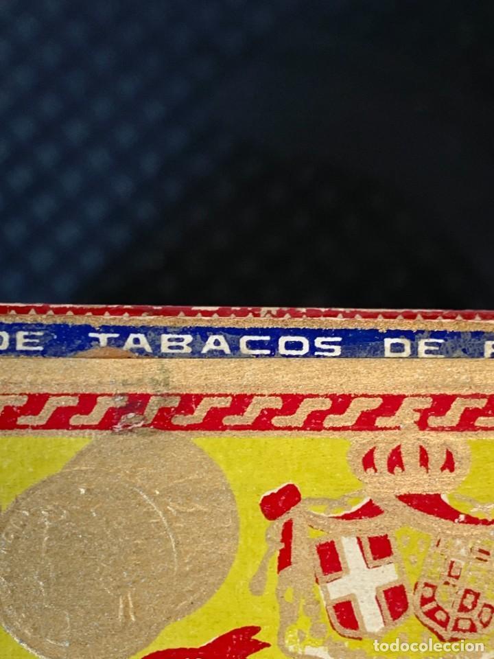Cajas de Puros: CAJA FLOR TABACOS PARTAGAS Y Cª HABANA CIGARROS PUROS MADE IN HABANA CUBA SERIE L PPIO S XX - Foto 28 - 269104153