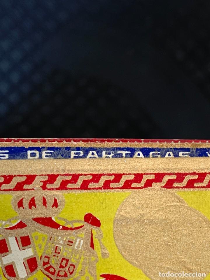 Cajas de Puros: CAJA FLOR TABACOS PARTAGAS Y Cª HABANA CIGARROS PUROS MADE IN HABANA CUBA SERIE L PPIO S XX - Foto 29 - 269104153