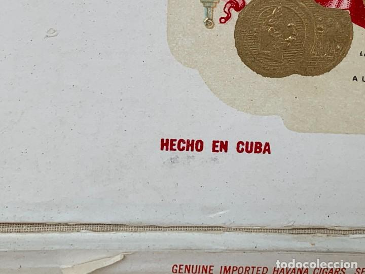 Cajas de Puros: CAJA FLOR TABACOS PARTAGAS Y Cª HABANA CIGARROS PUROS MADE IN HABANA CUBA SERIE L PPIO S XX - Foto 37 - 269104153