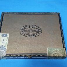 Boîtes de Cigares: CAJA 10 PUROS ROMEO Y JULIETA - CHURCHILLS - HAVANA CUBA - TUBOS DE ALUMINIO - COMPLETA - AÑO 1969. Lote 269220578