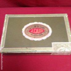 Cajas de Puros: PUROS LA FLOR DE CANO 19 PUROS , CREO NO SON DE ESTA CAJA ,. Lote 269984013