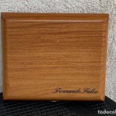 Cajas de Puros: CAJA PUROS FUMADOR FERNANDO FALCO TABACALERA FLOR DE LA ISABELA FILIPINAS MARQUES DE CUBAS 5X25X21CM. Lote 270542278