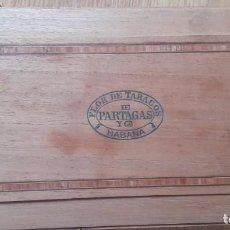 Cajas de Puros: ANTIGUA CAJA DE PUROS PARTAGAS. Lote 270900678