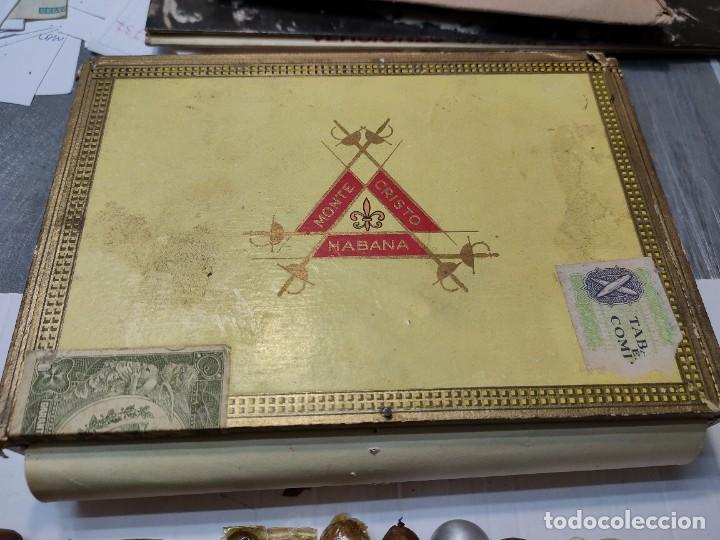 Cajas de Puros: Caja de Puros Monte Cristo con 25 puros distintas marcas mayoría Habana - Foto 2 - 273068453