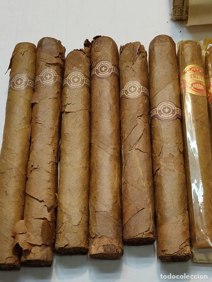 Cajas de Puros: Caja de Puros Monte Cristo con 25 puros distintas marcas mayoría Habana - Foto 4 - 273068453