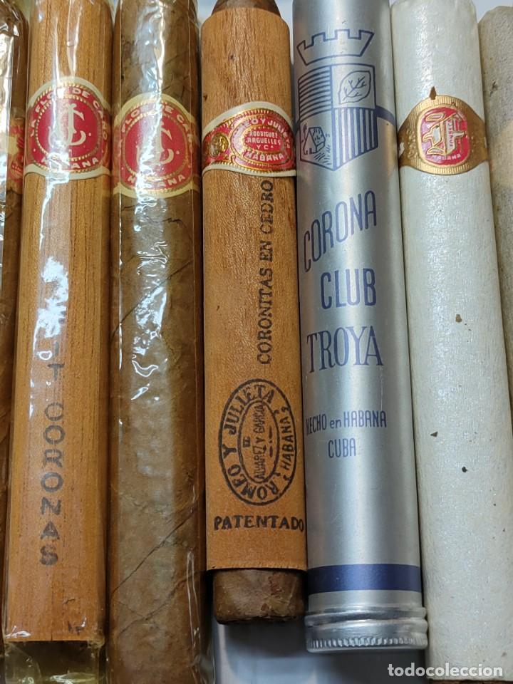Cajas de Puros: Caja de Puros Monte Cristo con 25 puros distintas marcas mayoría Habana - Foto 6 - 273068453