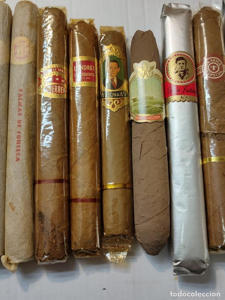 Cajas de Puros: Caja de Puros Monte Cristo con 25 puros distintas marcas mayoría Habana - Foto 8 - 273068453