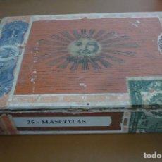 Cajas de Puros: CAJA VACIA PUROS HABANOS SOL 25 MASCOTAS. Lote 274661413