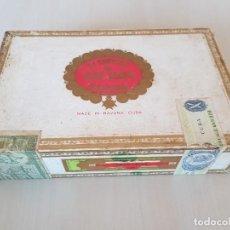 Cajas de Puros: ANTIGUA CAJA DE PUROS LA ESCEPCION DE JOSE JOSÉ GENER HABANA COMPLETA SIN ABRIR CUBA. Lote 276945093