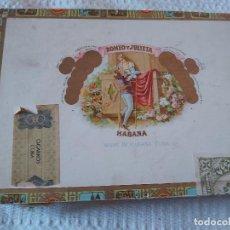 Cajas de Puros: CAJA PUROS ROMEO Y JULIETA. Lote 277142728