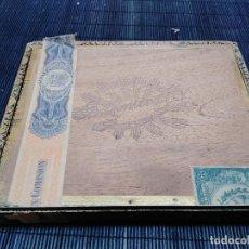 Cajas de Puros: ANTIGUA CAJA DE PUROS VACIA DE MADERA IMPERIALES DE MONTERO Y COMPAÑÍA - HABANA , CUBA - AÑO 1912. Lote 277192348