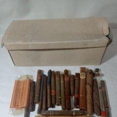 Cajas de Puros: LOTE COLECCIÓN DE PURO PUROS TABACO. ORIGINAL NO COPIA. REF.AUTO. Lote 277252983