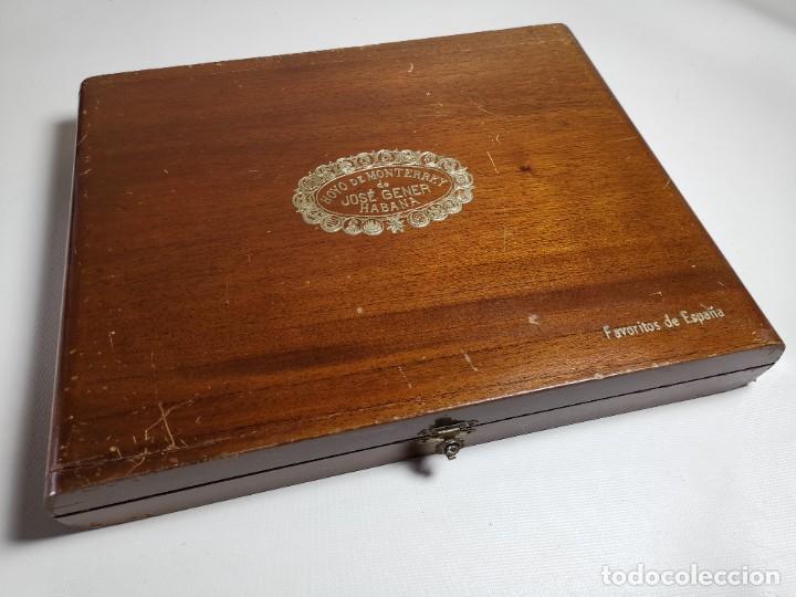 Cajas de Puros: CAJA VACIA HOYO DE MONTERREY DE JOSE GENER HABANA-FAVORITOS DE ESPAÑA - Foto 2 - 277829618