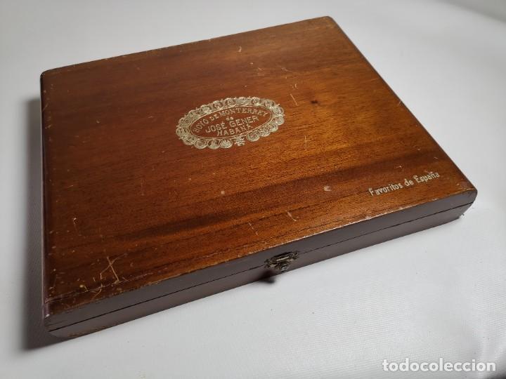 Cajas de Puros: CAJA VACIA HOYO DE MONTERREY DE JOSE GENER HABANA-FAVORITOS DE ESPAÑA - Foto 5 - 277829618