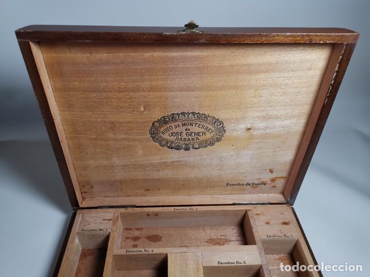 Cajas de Puros: CAJA VACIA HOYO DE MONTERREY DE JOSE GENER HABANA-FAVORITOS DE ESPAÑA - Foto 9 - 277829618