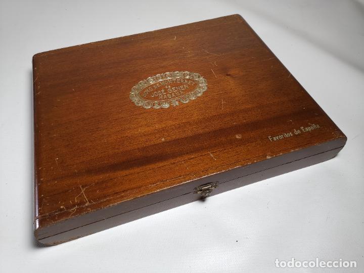 CAJA VACIA HOYO DE MONTERREY DE JOSE GENER HABANA-FAVORITOS DE ESPAÑA (Coleccionismo - Objetos para Fumar - Cajas de Puros)
