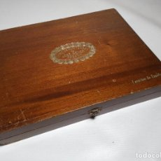 Cajas de Puros: CAJA VACIA HOYO DE MONTERREY DE JOSE GENER HABANA-FAVORITOS DE ESPAÑA. Lote 277829618
