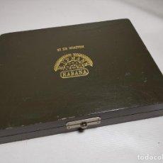 Cajas de Puros: CAJA DE PUROS VACIA DE HABANOS 25 SIR WINSTON. H. UPMANN. HABANA. Lote 277830023