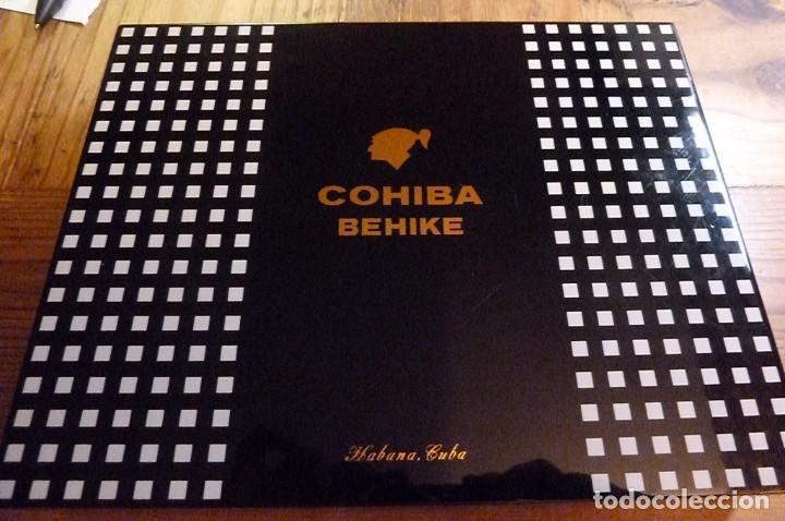 Cajas de Puros: Caja vacía puros Cohiba Behike. Habana, Cuba. - Foto 5 - 277849233