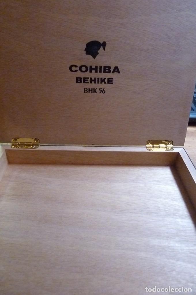 Cajas de Puros: Caja vacía puros Cohiba Behike. Habana, Cuba. - Foto 6 - 277849233