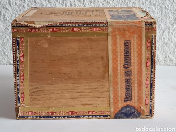 Cajas de Puros: Caja vacía Fábrica Tabacos Puros Habanos José L. Piedra - Habana Cuba - Cigars - Foto 7 - 278035383