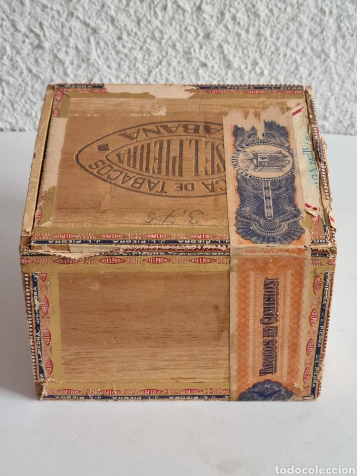 Cajas de Puros: Caja vacía Fábrica Tabacos Puros Habanos José L. Piedra - Habana Cuba - Cigars - Foto 8 - 278035383