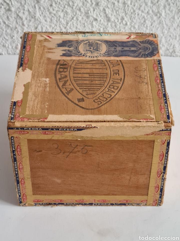 Cajas de Puros: Caja vacía Fábrica Tabacos Puros Habanos José L. Piedra - Habana Cuba - Cigars - Foto 9 - 278035383