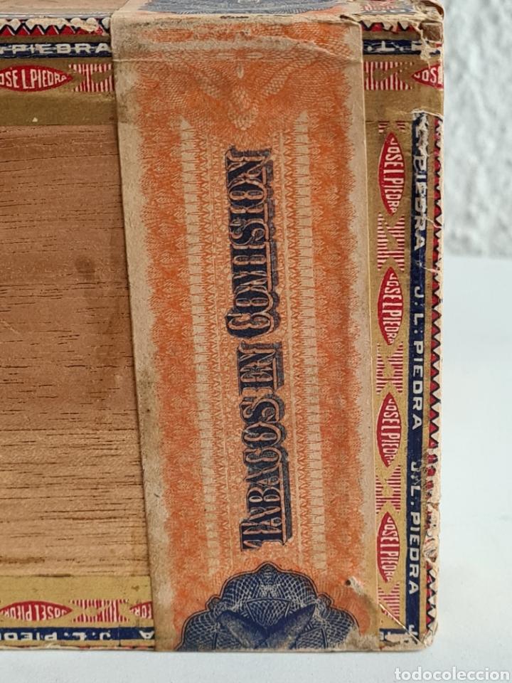 Cajas de Puros: Caja vacía Fábrica Tabacos Puros Habanos José L. Piedra - Habana Cuba - Cigars - Foto 10 - 278035383