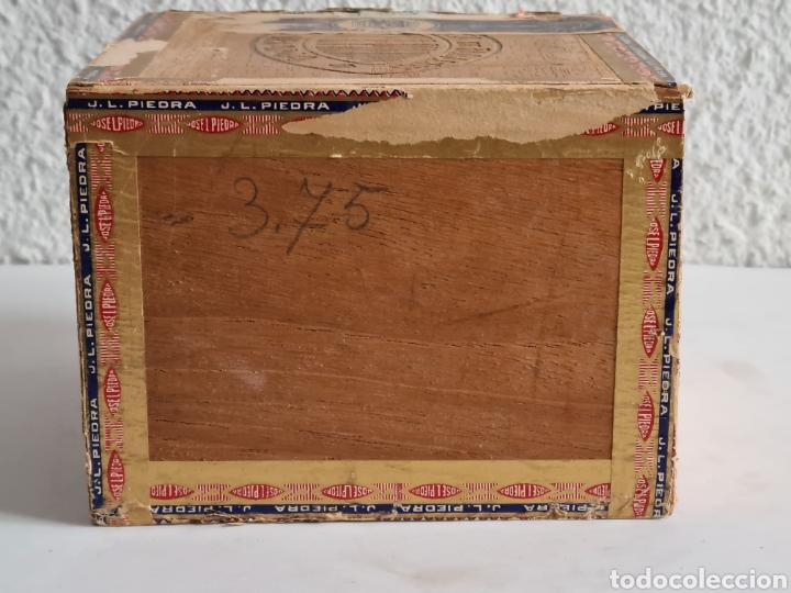 Cajas de Puros: Caja vacía Fábrica Tabacos Puros Habanos José L. Piedra - Habana Cuba - Cigars - Foto 11 - 278035383
