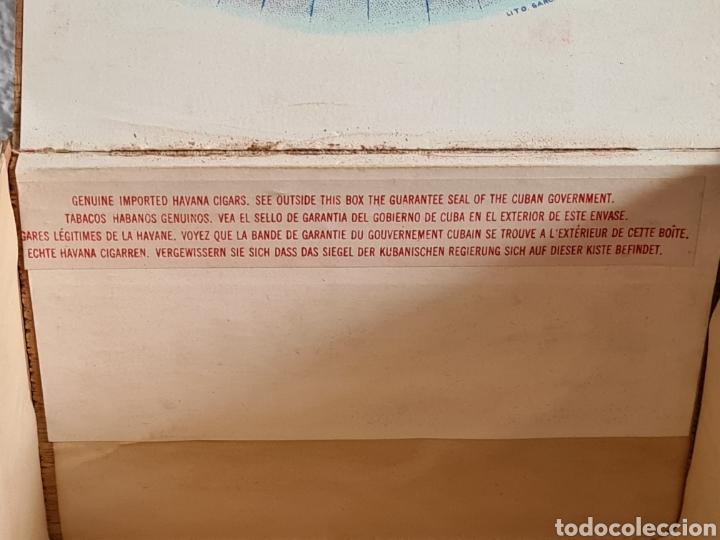 Cajas de Puros: Caja vacía Fábrica Tabacos Puros Habanos José L. Piedra - Habana Cuba - Cigars - Foto 14 - 278035383