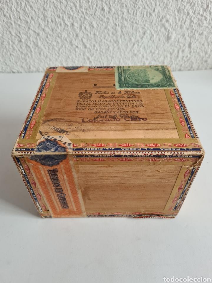 Cajas de Puros: Caja vacía Fábrica Tabacos Puros Habanos José L. Piedra - Habana Cuba - Cigars - Foto 17 - 278035383