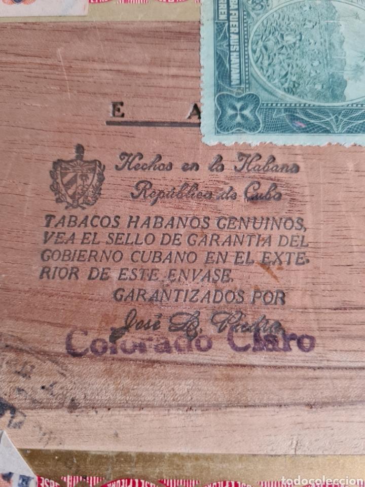 Cajas de Puros: Caja vacía Fábrica Tabacos Puros Habanos José L. Piedra - Habana Cuba - Cigars - Foto 18 - 278035383