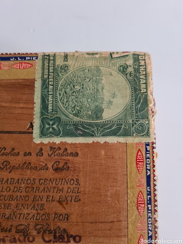 Cajas de Puros: Caja vacía Fábrica Tabacos Puros Habanos José L. Piedra - Habana Cuba - Cigars - Foto 19 - 278035383