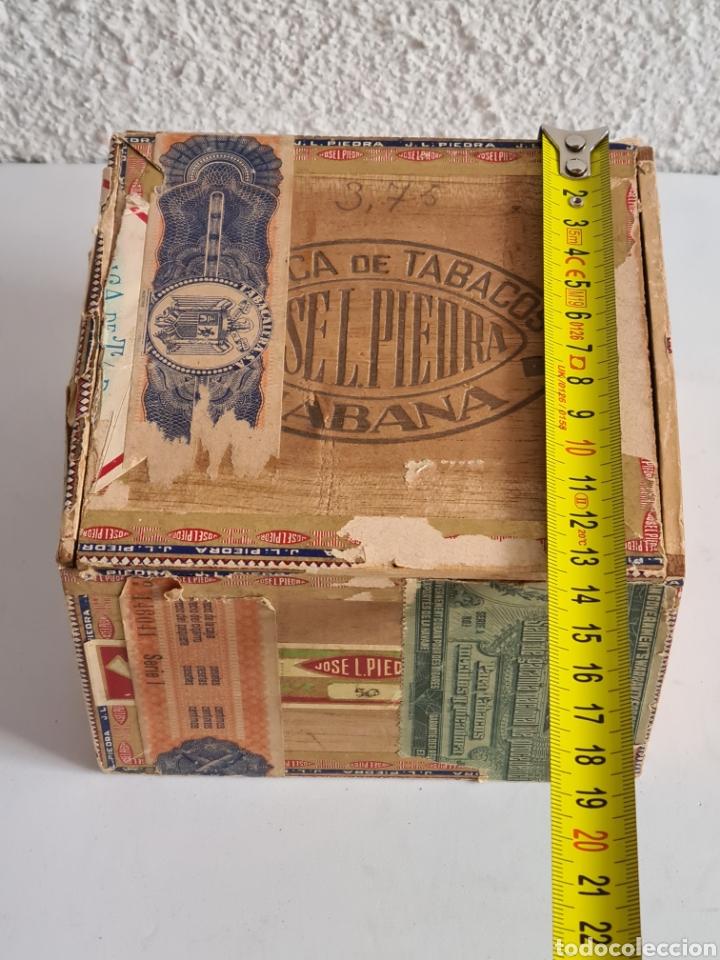Cajas de Puros: Caja vacía Fábrica Tabacos Puros Habanos José L. Piedra - Habana Cuba - Cigars - Foto 21 - 278035383