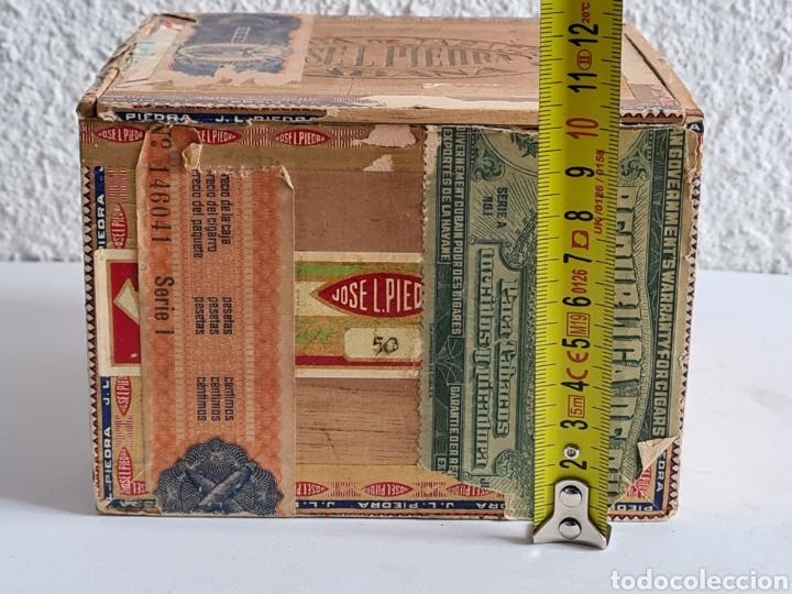 Cajas de Puros: Caja vacía Fábrica Tabacos Puros Habanos José L. Piedra - Habana Cuba - Cigars - Foto 22 - 278035383
